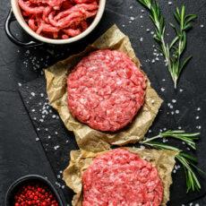 Italian Style Wagyu Beef Burgers. Wortley Wagyu